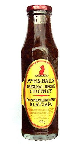 Mrs H.S. Balls Chutney 375ml - eine Flasche
