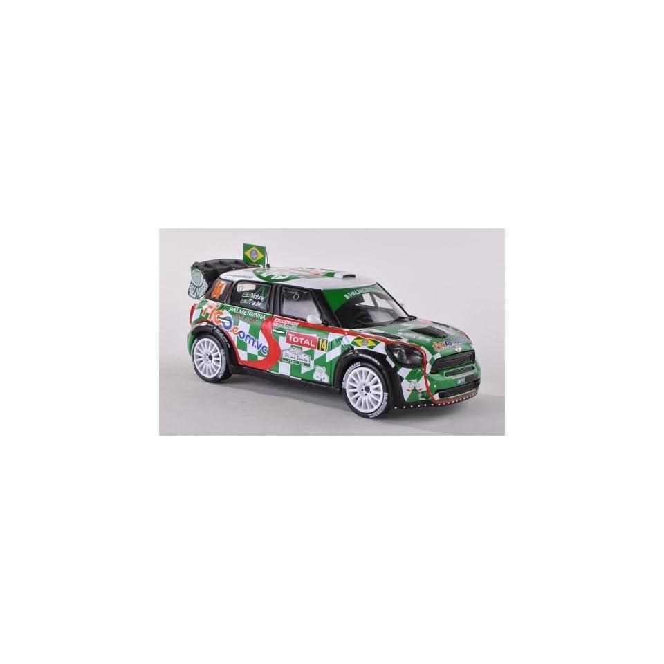 Mini John Cooper Works, No.14, Palmeiras, Rallye WM, Rallye Monte Carlo, 2012, Model Car, Ready made, IXO 143