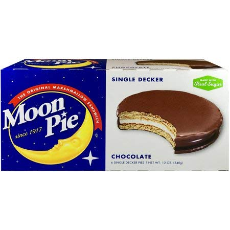 Moon Pie The original marshmallow sandwich Chocolate Large Box of 12 ()