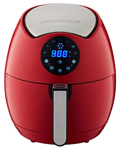 red air fryer - 1