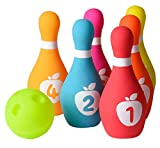 Playkidz Soft Baby Bowling Set Image