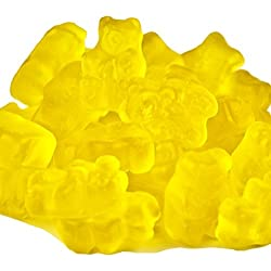 Yellow Gummi Bears Mango Flavor 2 pound Yellow Candy mango gummy bears