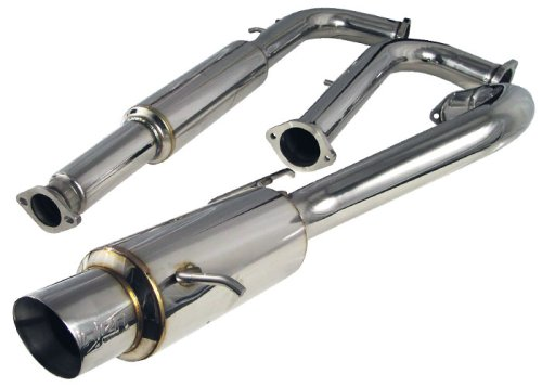 Injen Technology SES1869 Stainless Steel Exhaust (Injen Ses Cat Back Exhaust)