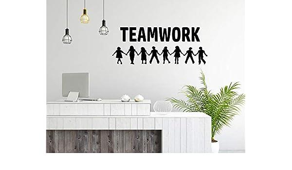 Trabajo en Equipo, inspiración de la Pared, Concepto de Trabajo ...