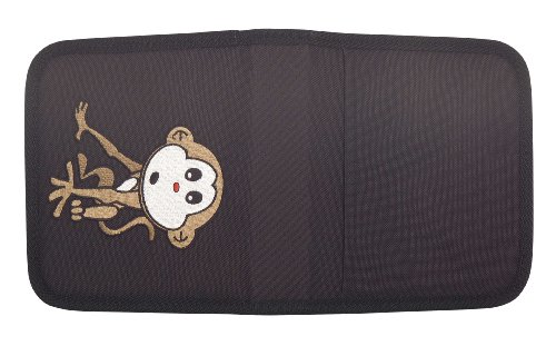 Cute Monkey CD DVD Holder Blu Ray Storage CD for Car Travel Parties in Black