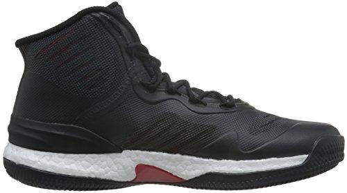 Adidas Herre D Steg 8 BasketballSko Mehrfarbig (core Sort / Scarlet / Ftwr Hvid) RNSanx2