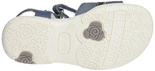 Chicco Cipriana, Sandalias para Bebés Azul (Jeans)