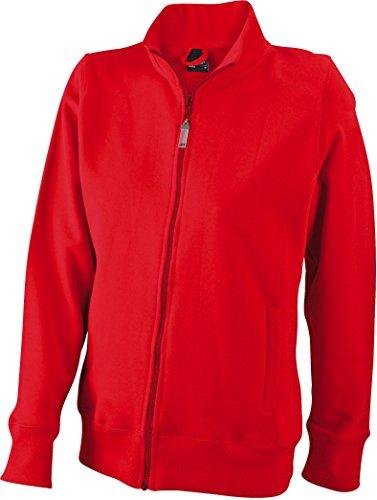 femme Rouge tailles pour femme pour veste xXL couleurs 6 Sweat s Evz44q