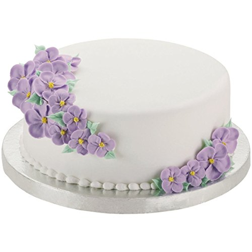 Wilton 16-Inch Round Silver Cake Base, 2-Pack