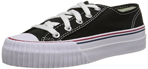 PF Flyers Men's Center Lo Sneaker,Black Canvas,Men's 11.5 M US/Women's 13 M US (Pf Flyers Classic Shoes)