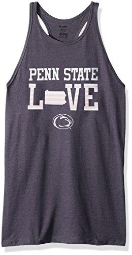 NCAA Penn State Nittany Lions Women's Core Tank, Medium, Grey Heather