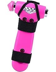 LA TIM'S Auto Veiligheid Hamer met Veiligheidsgordel Cutter en Venster Glas Breaker,3 in 1 Auto Life Sleutelhanger Emergency Car Escape Tool,Beste Gift voor Vriendin, Vrouwen, Man, Relatief