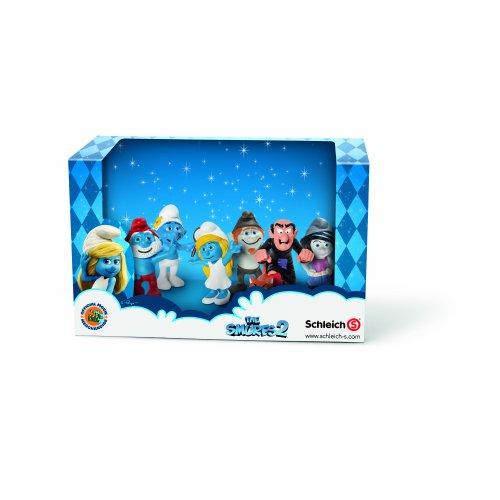 (Schleich Smurf Set Movie 2013 Toy)