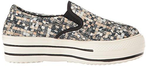 Bernie Mev Womens Haute Vee Mode Sneaker Paille