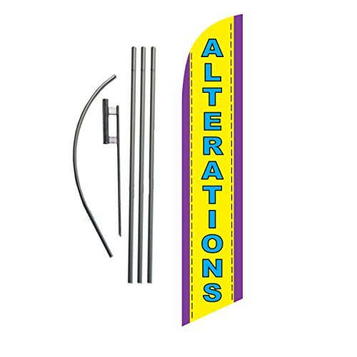 Alterations 15ft Feather Banner Swooper product image