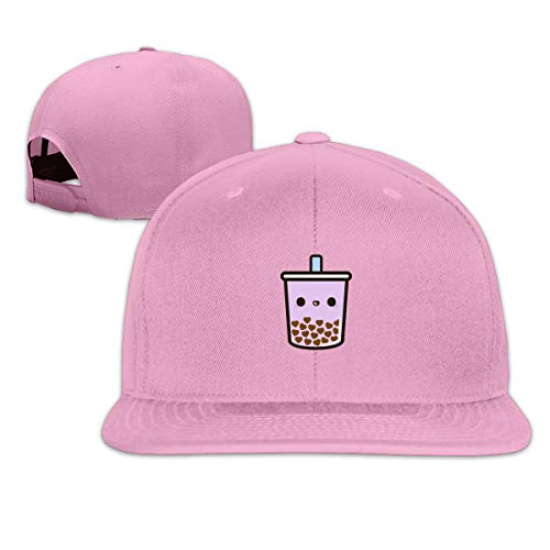 Twirl Steel Watch - Houte Cute Love Heart Bubble Tea Unisex Flat Brimmed Snapback Classic Baseball Cap 21.6