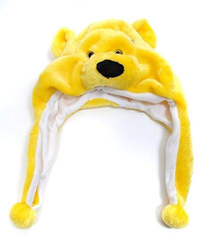 Bear Plush Animal Hat with Ear