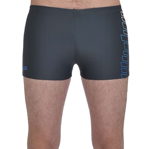 Zoggs Mens Perth Racer Swimming Shorts - Grey - 36