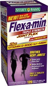 Nature's Bounty, Flex-a-Min, Triple Strength with Joint Flex, 120 Tablets