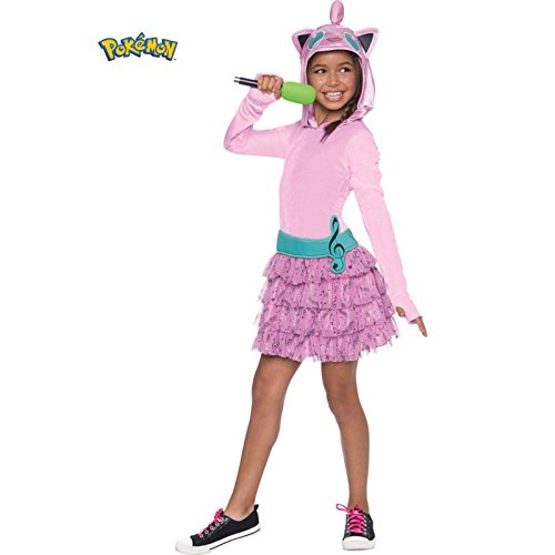 Rubie's Costume Pokemon Jigglypuff Child Hooded Costume Dress Costume, Medium - Pokemon Charizard Child Costumes