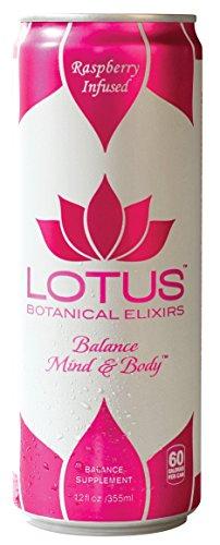 - Lotus Botanical Elixirs, Pink Lotus Elixir, Raspberry Infused, 12 Fluid Ounce (Pack of 12)