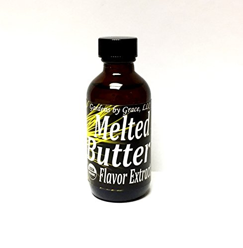 Organic Flavor Extract Butter | Use in Gourmet Snacks, Candy, Beverages, Baking, Ice Cream, Frosting, Syrup and More | GMO-Free, Vegan, Gluten-Free, 2 ()