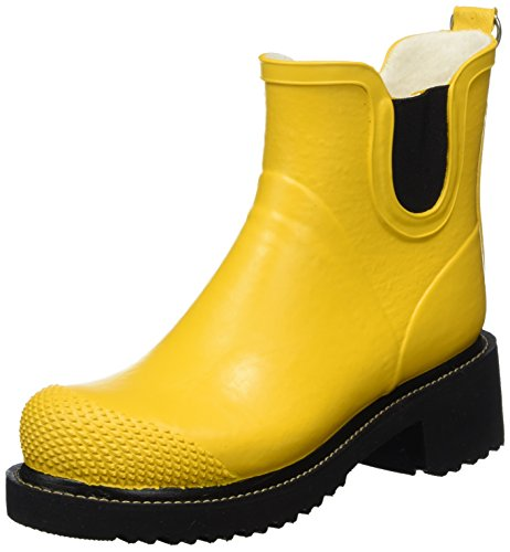 ILSE JACOBSEN Rub47 Women's Work Wellingtons Yellow (Cyber Gelb 808)