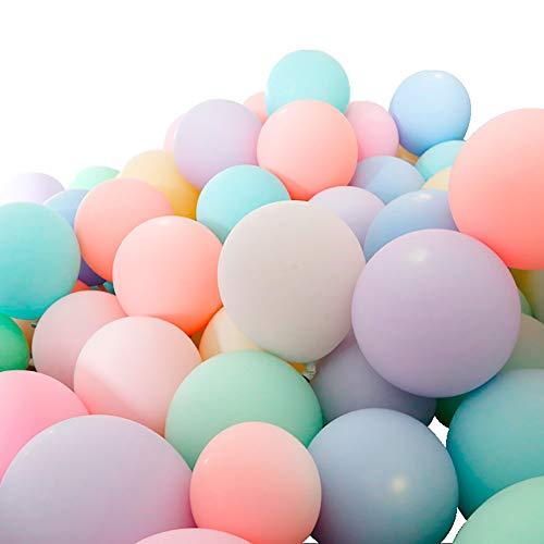Halloween Balloon Decor - 100pcs 10inch Macaron Pastel Colour Latex