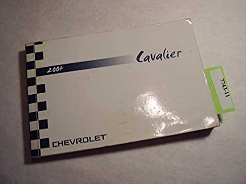 2004 chevrolet cavalier owners manual chevrolet amazon com books rh amazon com chevy cavalier owners manual 2004 chevy cavalier owners manual 2002