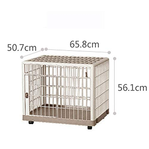 65.850.756.1cm Pet cage cat cage resin cage Teddy bear law fighting small and medium dogs