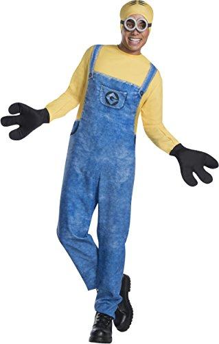 Three's Company Costumes (Rubie's Men's Despicable Me 3 Movie Minion Costume, Dave, Standard)