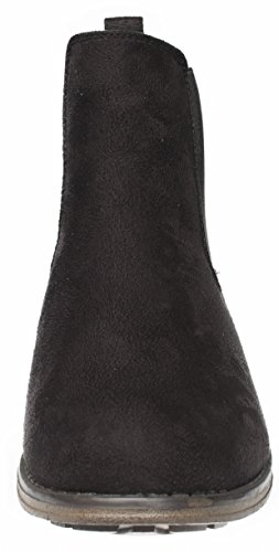 Chelsea Bootie Katty Boots Fitters Ankle Black 4qpzz5Wdnw