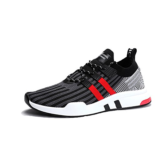 TUOKING Herren Laufschuhe Jogger Schuhe Leichte Socken Schuhe Breathable Fashion Sneakers Casual Wanderschuhe va8vl