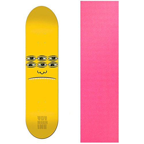 "UPC 742091155725, TOY MACHINE Skateboard Deck TRANSMISSIONATOR FACE 8.125"" Pink GRIP"