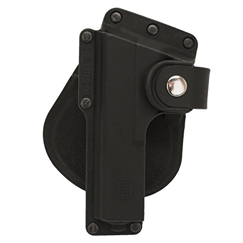 Fobus Tactical Speed Holster Paddle Left Hand GLT19LH Glock 19,23,32/S&W 99 Compact/M&P Compact holds Handgun with Laser or Light