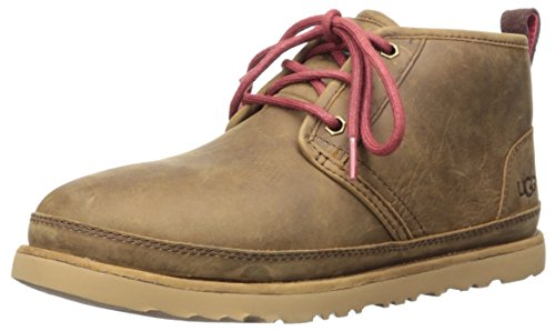 UGG Men's Neumel Waterproof Chukka Boot, Grizzly, 12 M US