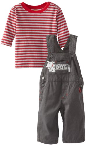 Watch Me Grow! by Sesame Street Baby-Boys Infant LS Overall And Pullover