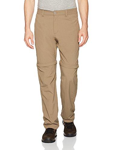White Sierra Men's Pt. Convertible Pant - 32' Inseam, Bark, Large