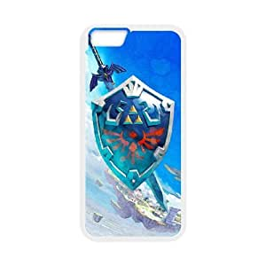 The Legend of Zelda iPhone 6 Plus 5.5 Inch Cell Phone Case White EAM