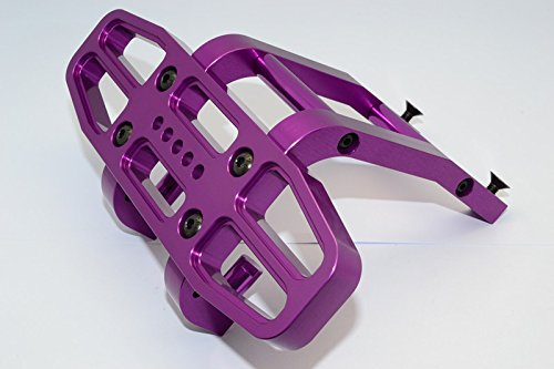 Baja 5b Rtr - HPI Baja 5B RTR, 5B SS, 5T Upgrade Parts Aluminum Rear Skirt - 1 Set Purple