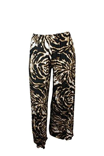 Gótico Alta Ltd Señoras Pierna Mujer Pantalones Amplia nbsp;– Suave Tiger Fashion Fairies Palazzo Cintura 12 Elástico nbsp;26 wYxUqBCzAW
