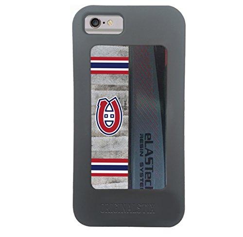 Montreal Canadians Hockey - NHL Montreal Canadiens Unisex OS-NHL-Mon-Art-001-iph7Montreal Canadians Recycled Hockey Stick iPhone 7 Case, Black