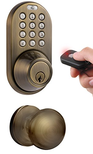 Milocks Xfk 02aq Digital Deadbolt Door Lock And Passage