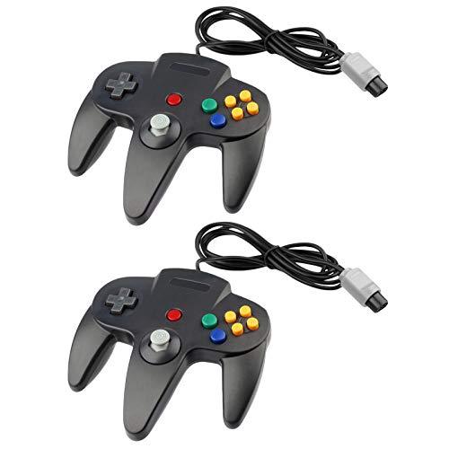2 for N64 Controller Nintendo 64 (Black)