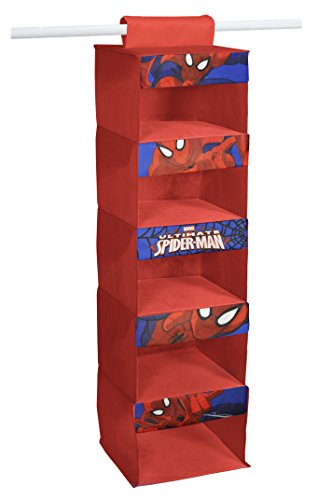 Marvel Spider-Man 5-Tier Hanging Organizer