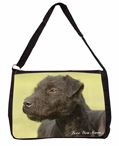 Patterdale 16 You School Shoulder Large Laptop Dogs Mum Terrier Love Black Ba r1nYOrF