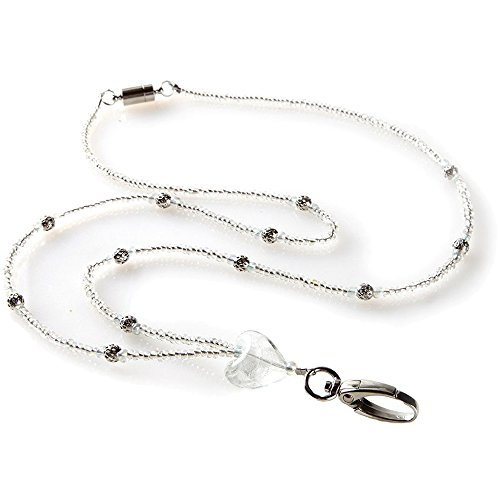 Stunning Silver Heart ID Necklace