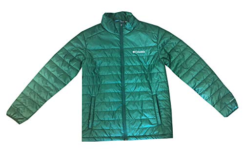 Columbia Mens Crested Butte II Omni-Heat Jacket (M, Forest Green)