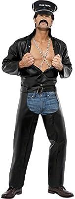 Disfraz de rockero traje carnaval YMCA: Amazon.es: Juguetes y juegos