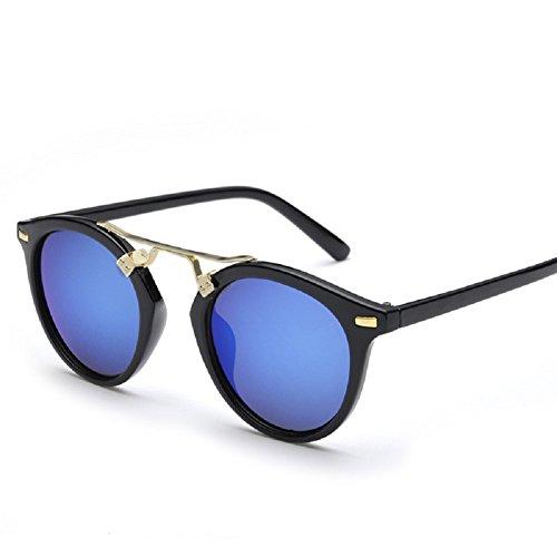 Lunettes de soleil polarisées Protection UV lunettes de lunettes de Embryform femmes Bleu